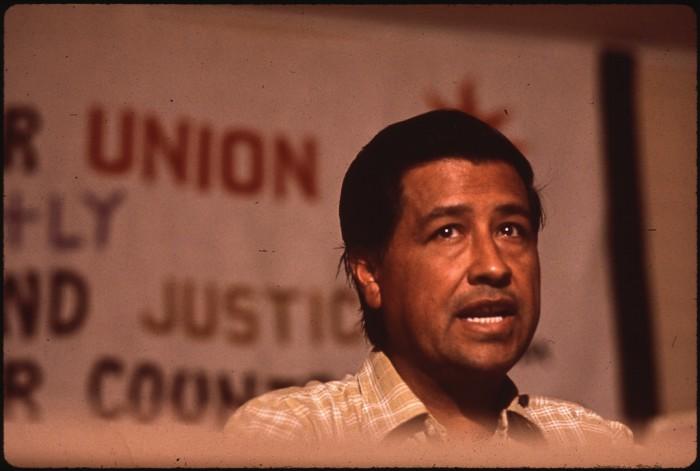 7. César Chávez, 1993