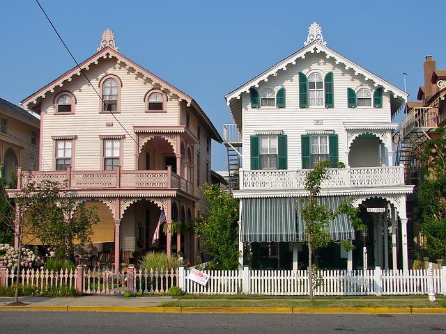 2. Cape May Homes