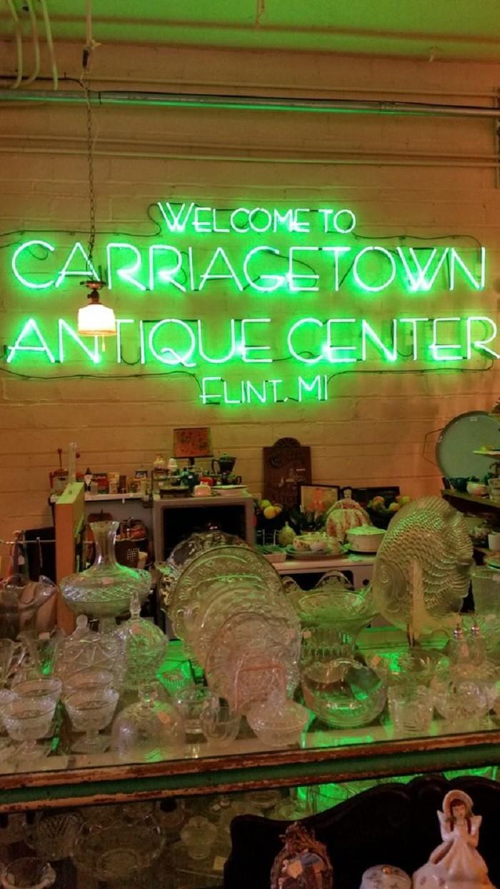 2) Carriage Town Antique Center, Flint