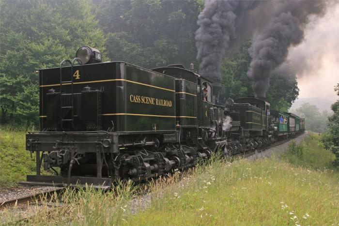 11. Cass Scenic Railroad