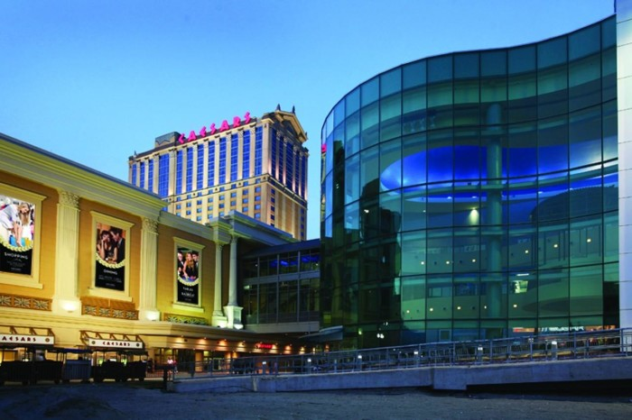 6. Caesar's, Atlantic City