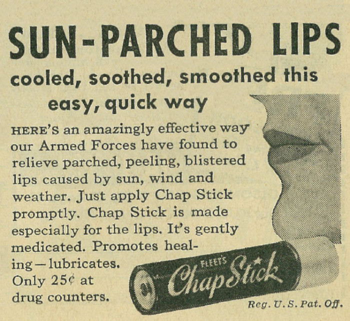 7. Chapstick was invented in the early 1880s in Lynchburg.