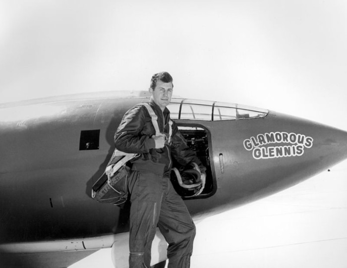 9. West Virginia native Chuck Yeager was the first pilot to break the sound barrier.
