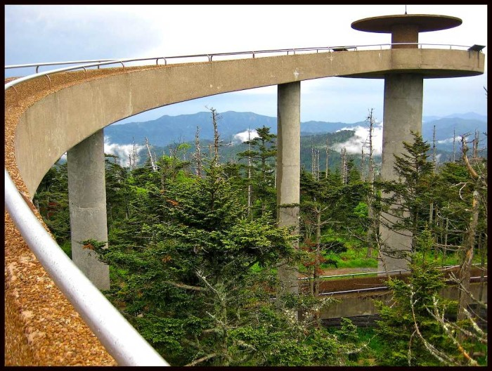 8) Clingman's Dome will give you the view of your life