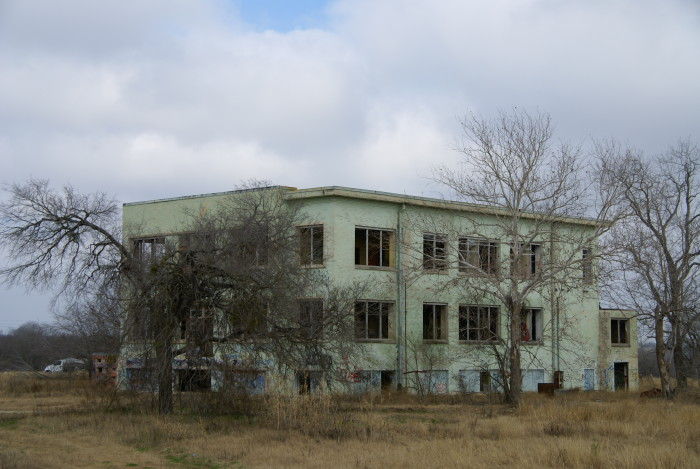 Abandoned building in San Antonio