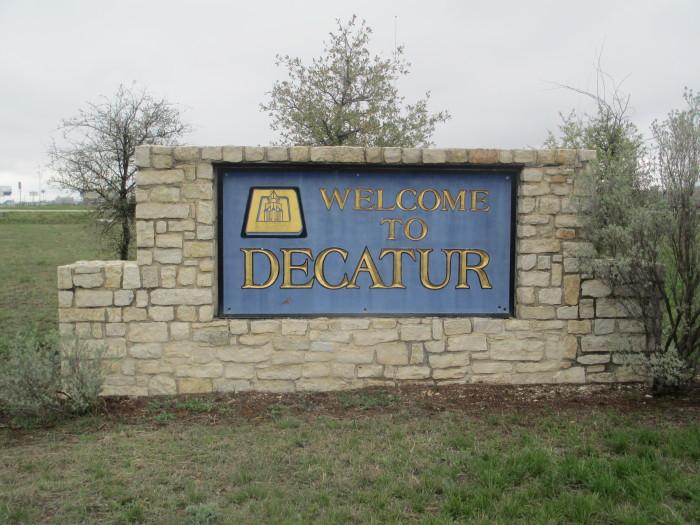 2) Decatur