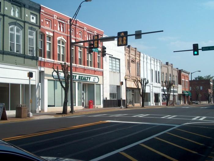 6) Cedartown, GA