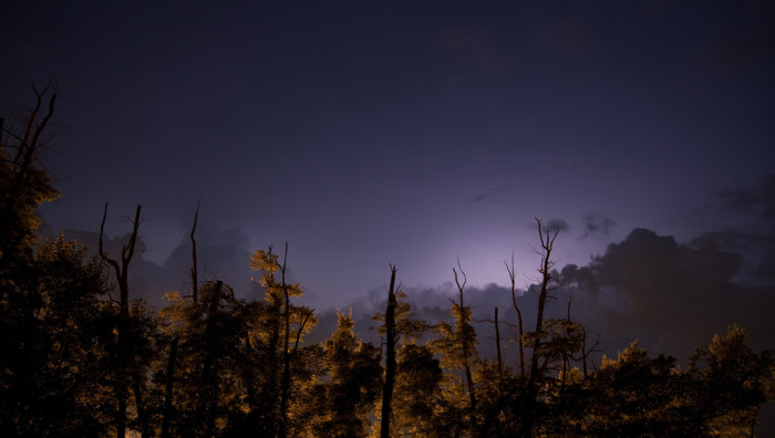 9) Darkness to the Great Smoky Mountains