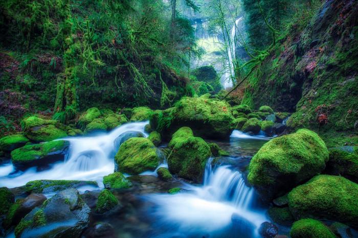 10) Elowah Falls