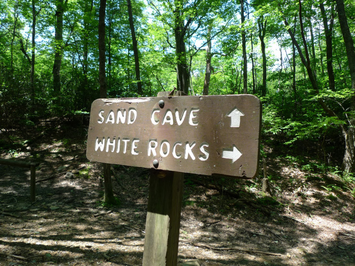 12. Ewing Trail to White Rocks and Sand Cave, Cumberland Gap National Historical Park, Ewing