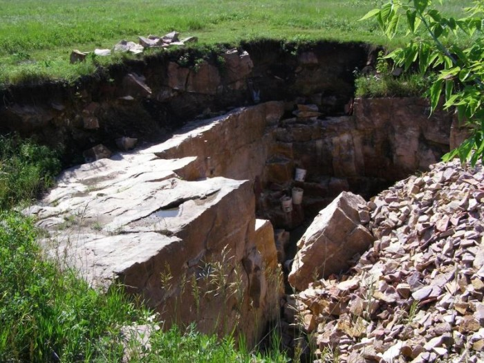 1. Pipestone National Monument is a magnificent site where archaeologists found evidence showing that quarrying of pipestone has occurred for over 3,000 years! It is a sacred American Indian site and pipemaking still continues here today.