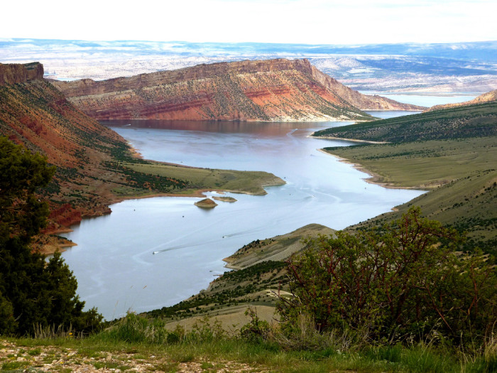 1) Flaming Gorge