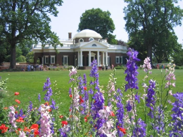 4. Monticello Gardens, Charlottesville