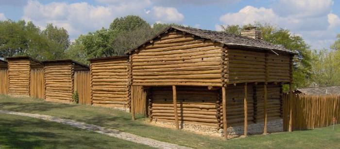 4. Fort Harrod in Harrodsburg