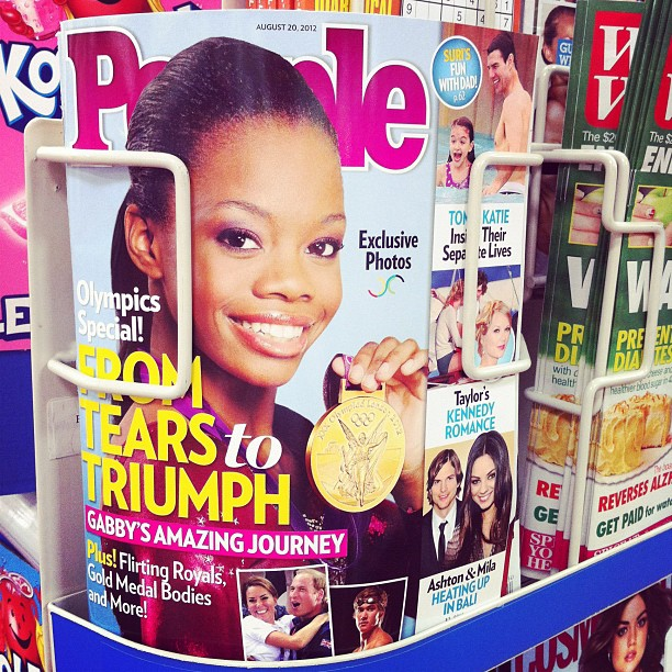 5. Gabby Douglas became the first African American to win gymnastics gold in 2012.