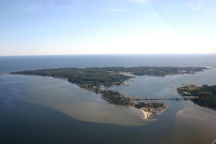 1. Gwynn's Island, Mathews County
