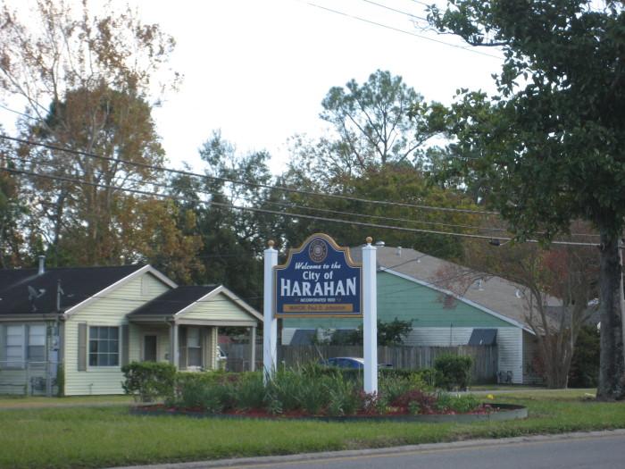 7) Harahan, LA Violent crimes per 1000 persons: 1.61