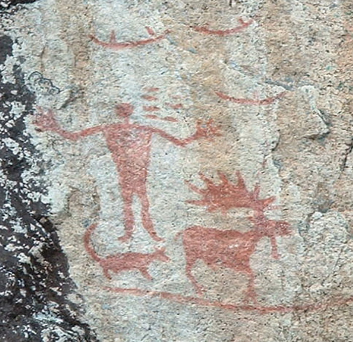 5. Hegman Lake Pictographs are incredibly well-preserved Native American pictographs, on North Hegman Lake in the BWCA. Frequently visited, these pictographs are the most photographed in the Upper Midwest. This spot didn't require digging, but is still worth a look!