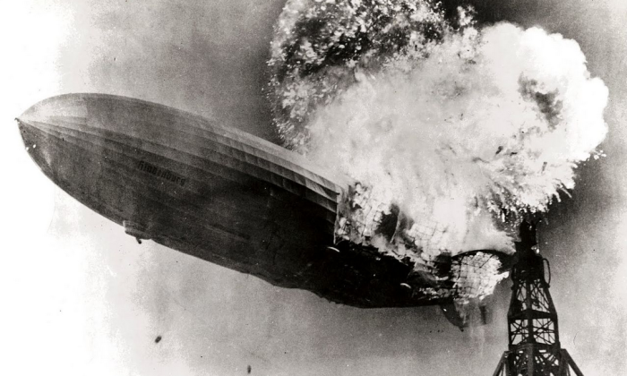 4. The Hindenburg Explosion in Manchester Township rocked the nation,  diminishing the popularity of airship travel.