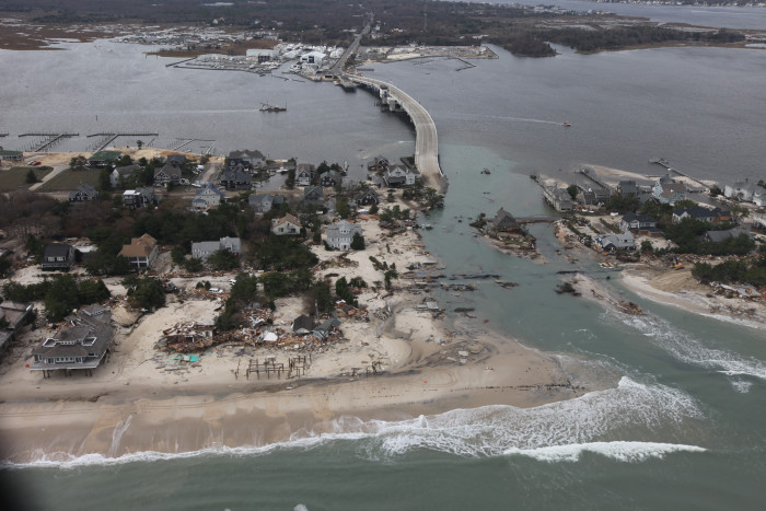 9. When Hurricane Sandy hit on  October 30, 2012, many areas were affected but parts of New Jersey were devastated.