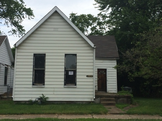 1. This is a 2 bedroom, 1 bathroom home in Evansville located at 2809 C St. It can be purchased right now for $9,900.