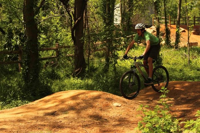 James River Biking