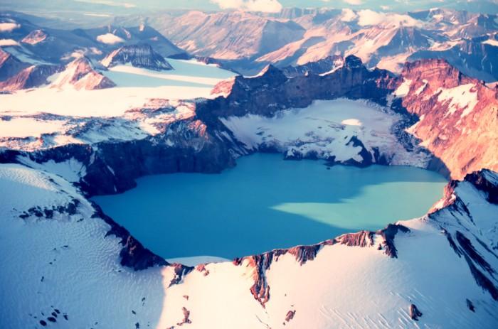 1) Crater Lake, Mount Katmai