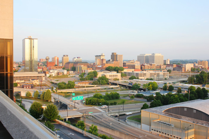 2) Knoxville