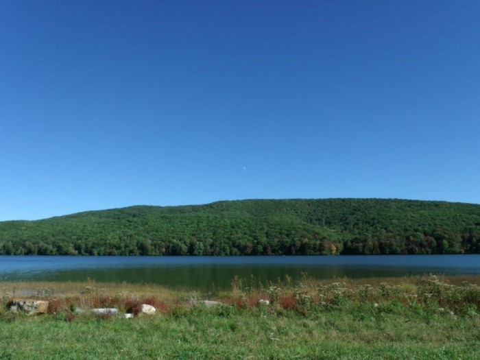 7. Laurel Bed Lake at Clinch Mountain Wildlife Management Area, Russell County