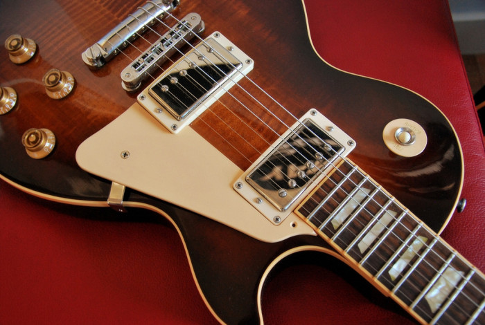8. The first solid body electric guitar was made here.