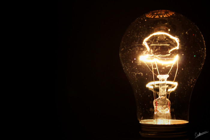 9. The first light bulb was made by Thomas A. Edison in Menlo Park in 1879.