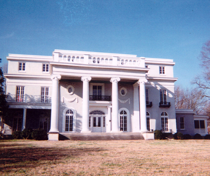 8) The Longview Mansion JUST might be haunted...