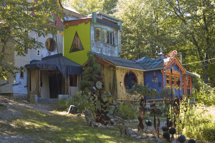 7. Luna Parc, a psychedelic wonderland in the woods