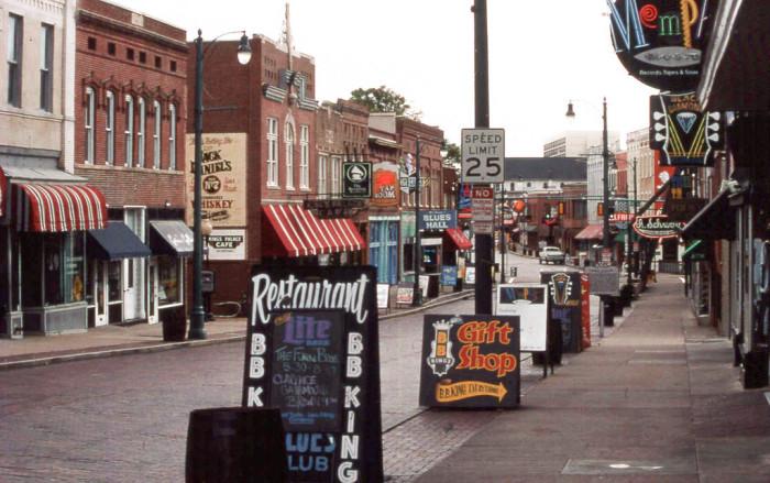 1) Memphis