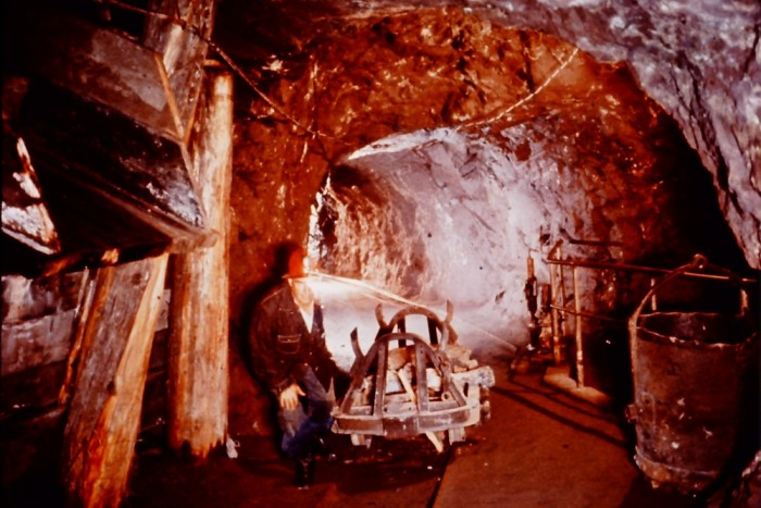 6. The first copper mine in America was opened here.