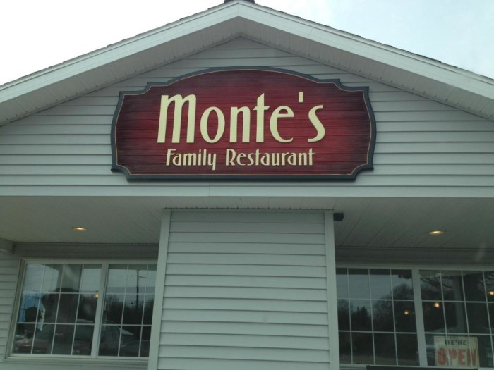 10) Monte's Family Restaurant, Harrison