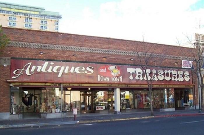 5. Antiques & Treasures - Reno, NV