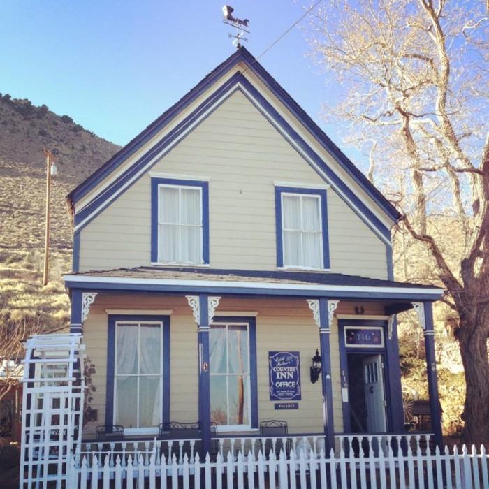 7. Edith Palmer's Country Inn - Virginia City, NV