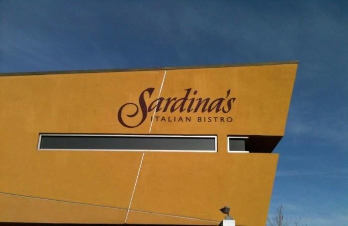 9. Sardina's Italian Bistro - Reno, NV