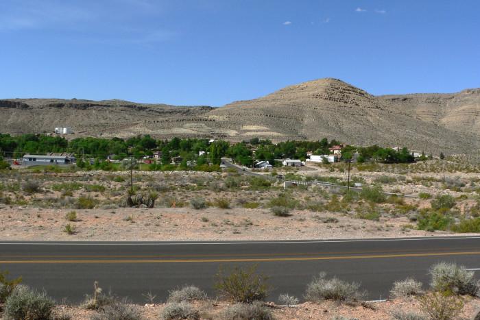 6. Blue Diamond, NV (Population 290)