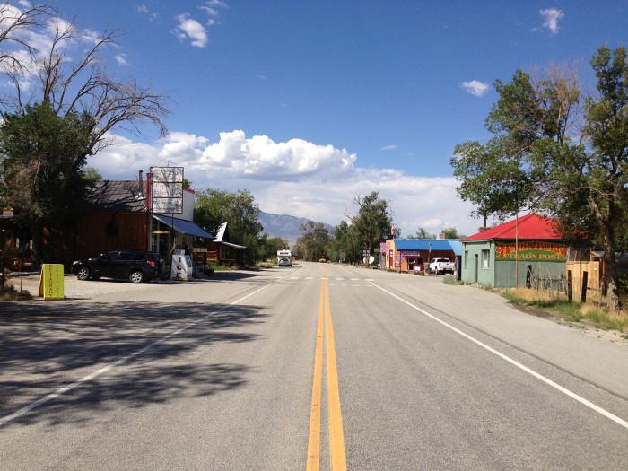 9. Baker, NV (Population 385)