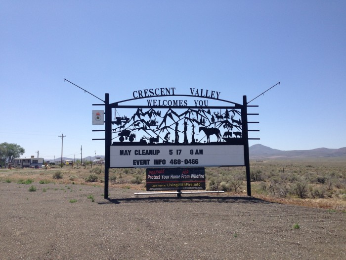 5. Crescent Valley, NV (Population 392)