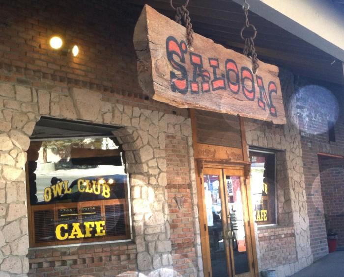 7. Owl Club Bar & Steakhouse - Eureka, NV