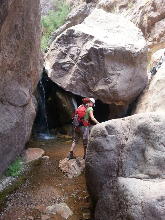 9. Gold Strike Canyon Hot Springs Trail - Boulder City