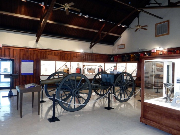 9. National Guard Militia Museum, Sea Girt, Population: 1,811