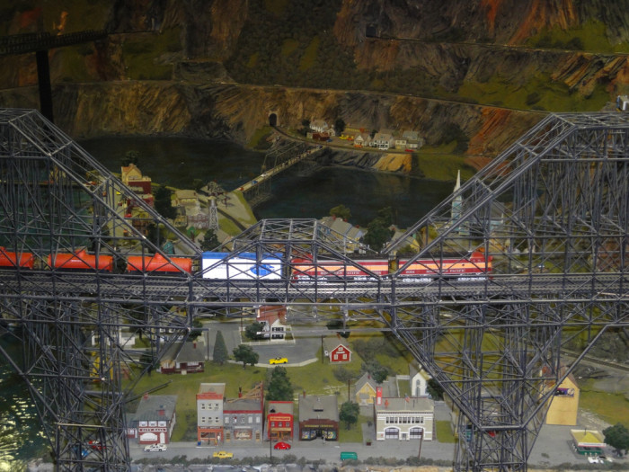 6. The worlds largest model railroad