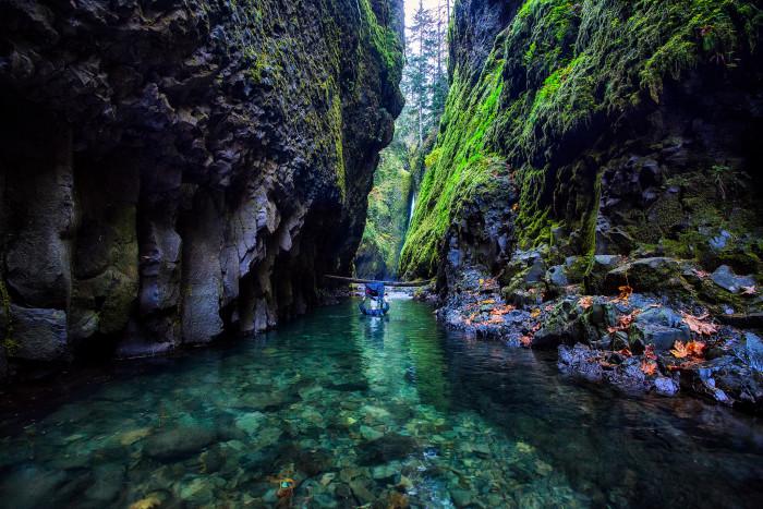 9) Oneonta Gorge