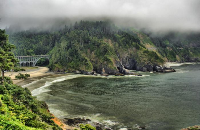 8) Oregon Coast