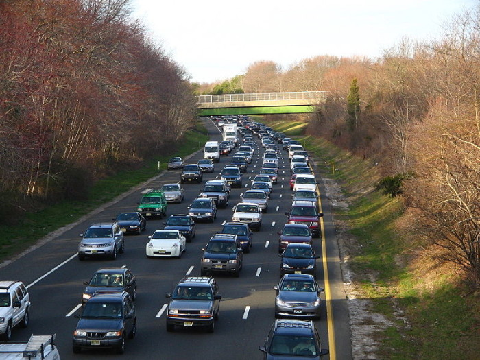 8. Traffic is expected and planned for. It still stinks.