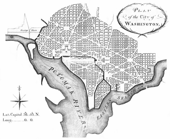 3. July 16, 1790: Washington, D.C. was founded as the capital of the newly formed United States of America from land ceded by Virginia and Maryland.